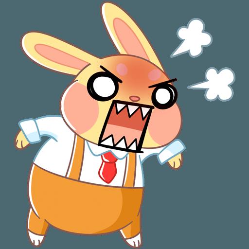 Fluffy Bun messages sticker-4