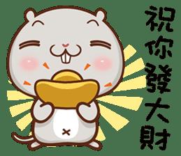 讚讚鼠 messages sticker-1
