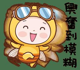 蜜蜂布丁 messages sticker-10