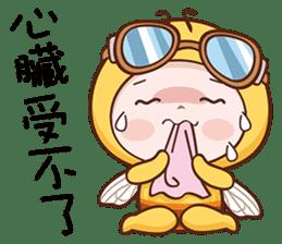 蜜蜂布丁 messages sticker-6