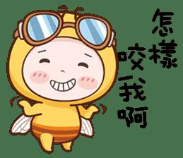 蜜蜂布丁 messages sticker-7