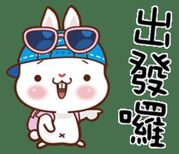 藍帽兔 messages sticker-9