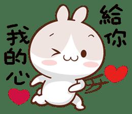 呼呼兔 messages sticker-10