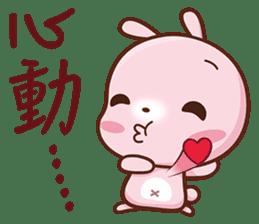 粉紅小兔 messages sticker-2