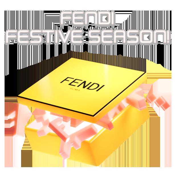 Fendi Holiday iMessage messages sticker-2