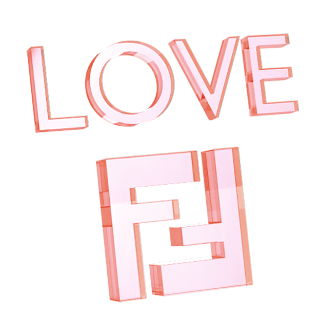 Fendi Holiday iMessage messages sticker-10