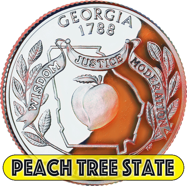 I Love Georgia messages sticker-2