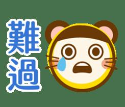大頭鼠鼠 messages sticker-11