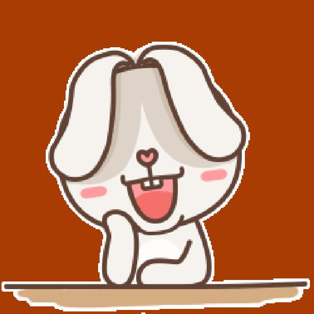 秃囧囧兔 messages sticker-4