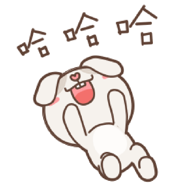 秃囧囧兔 messages sticker-10