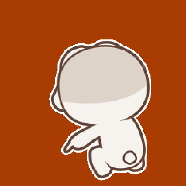 秃囧囧兔 messages sticker-6