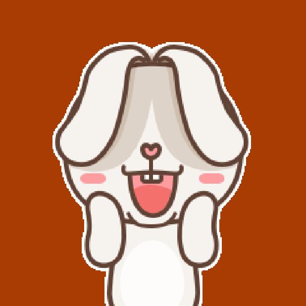 秃囧囧兔 messages sticker-2