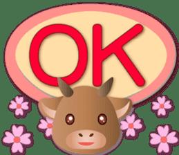 祝福牛牛 messages sticker-8