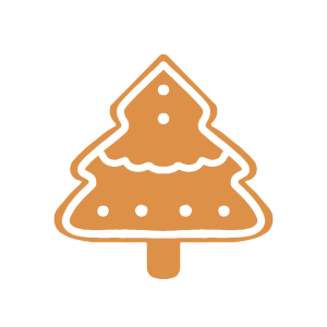 Holiday Gingerbread Stickers messages sticker-10