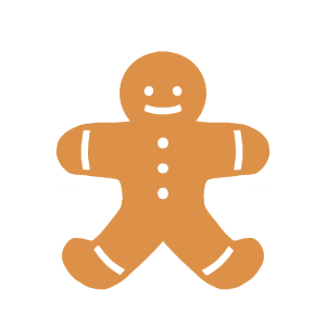 Holiday Gingerbread Stickers messages sticker-0