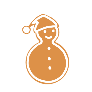 Holiday Gingerbread Stickers messages sticker-3