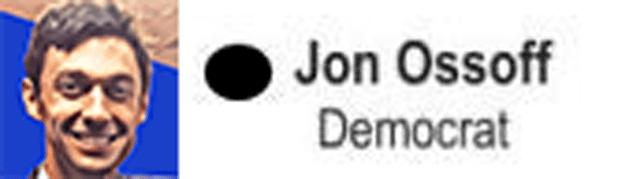 Georgia Senate Runoff messages sticker-8