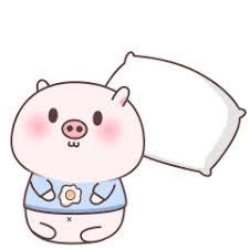 失落的粉猪 messages sticker-5