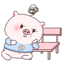 失落的粉猪 messages sticker-2