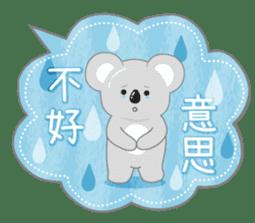 周到考拉 messages sticker-2