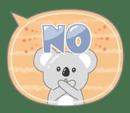 周到考拉 messages sticker-11