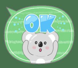 周到考拉 messages sticker-10
