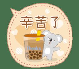 周到考拉 messages sticker-6