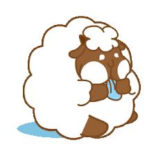 悠閒的羊胖 messages sticker-7