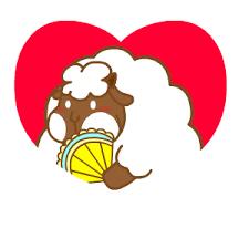 悠閒的羊胖 messages sticker-6