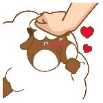 悠閒的羊胖 messages sticker-1
