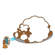 悠閒的羊胖 messages sticker-10