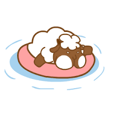 悠閒的羊胖 messages sticker-9