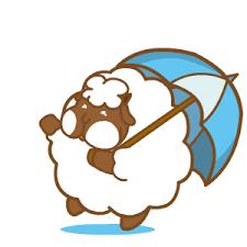 悠閒的羊胖 messages sticker-2