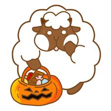悠閒的羊胖 messages sticker-4