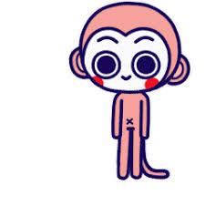 委屈的小猴 messages sticker-2