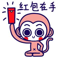 委屈的小猴 messages sticker-6
