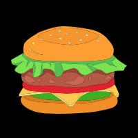 极品美味食物贴纸 messages sticker-4