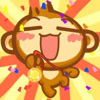 自戀的猴歡 messages sticker-0