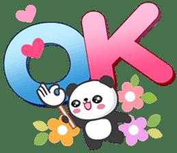 熊貓大字 messages sticker-3