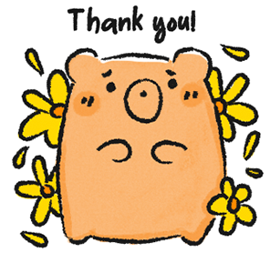 A BUNCHABEARS Stickers messages sticker-9