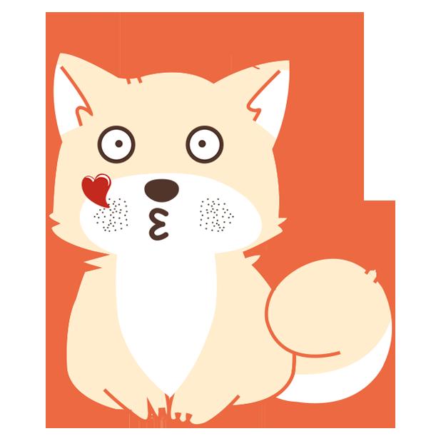 纯情可爱忠犬-爱犬 messages sticker-10