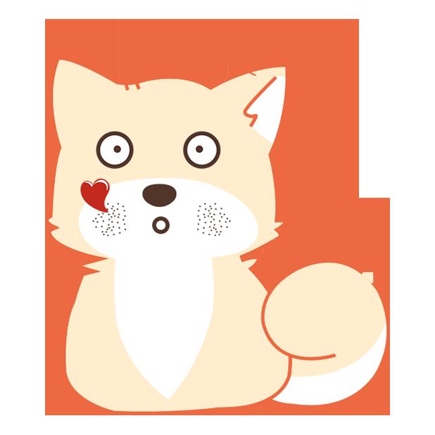 纯情可爱忠犬-爱犬 messages sticker-1