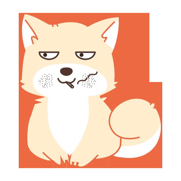 纯情可爱忠犬-爱犬 messages sticker-8