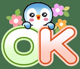 企鵝大字 messages sticker-11