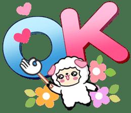 小羊大字 messages sticker-5