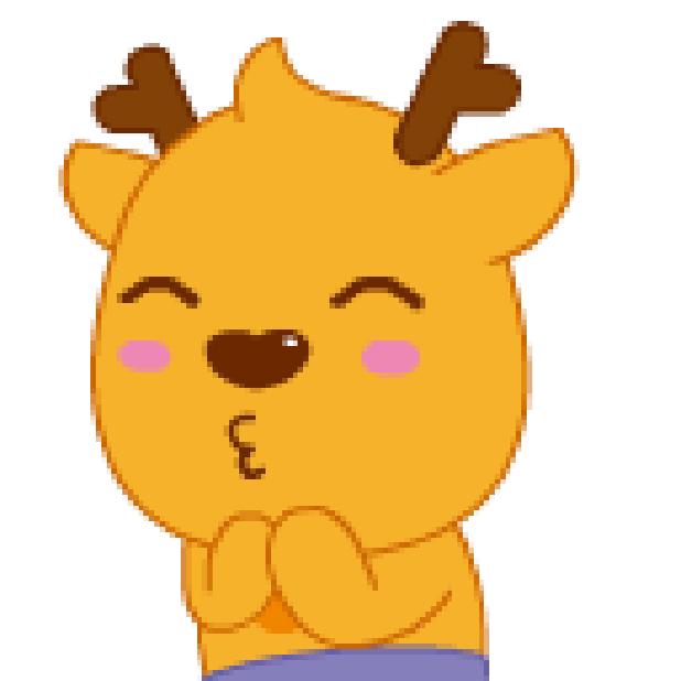 小鹿叮叮 messages sticker-11
