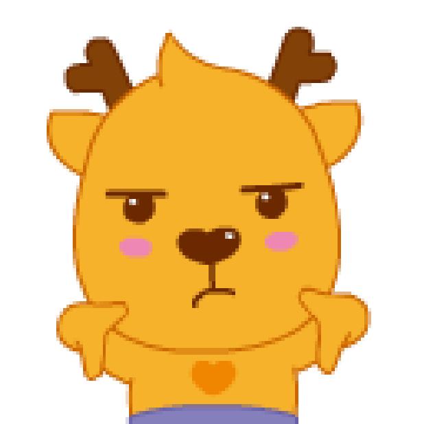 小鹿叮叮 messages sticker-0