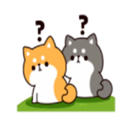 可愛的柴二 messages sticker-1