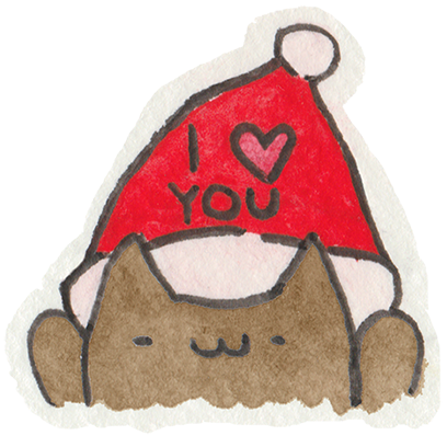 Christmas Cats Stickers messages sticker-8