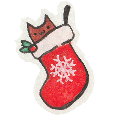 Christmas Cats Stickers messages sticker-1